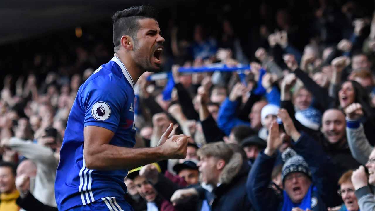 Diegoo Costa yang menjadi mesin gol Chelsea musim ini