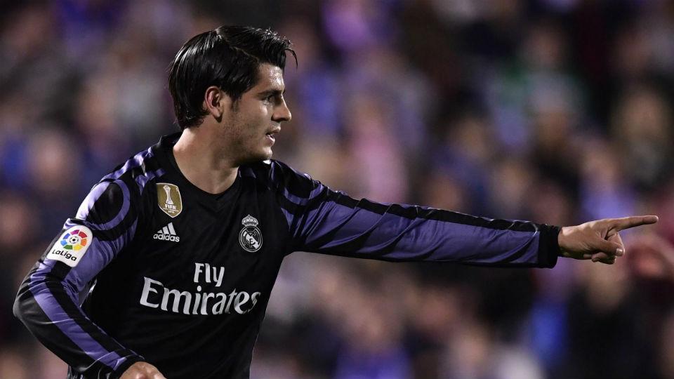 Alvaro Morata mencuri perhatian Chelsea